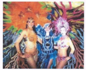 Samba Dance with Sheyla Mattos at Bahia Brazil Art Center